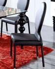 Modern Black Dining Chair European Design Spain 33D223 (Set of 2)