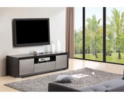 Modern Black TV Console BM-130-BLK