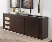 Modern Buffet Irene in Fume Beige Finish 33224IE