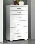 Modern Chest in White Made in Italy 33B77