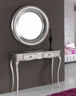 Modern Console Table and Mirror Set 33C51