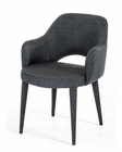 Modern Dark Grey Fabric Dining Chair 44D8980CH-G