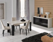 Modern Dining Room Set Made in Spain Zara 3323ZR