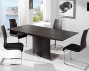 Dining Set in Wengue Finish 33D401