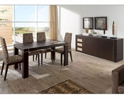 Modern Dining Set Irene in Fume Beige Finish 3323IE