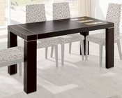 Modern Dining Table Irene in Fume Beige Finish 33221IE