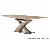 Modern Dining Table w/ Extension 2122