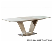 Modern Dining Table w/ Extension 2135