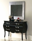 Modern Dresser and Mirror Natalia in Black Made in Spain 33B304