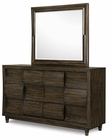 Modern Dresser and Mirror Noma by Magnussen MG-B2640DM