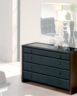 Modern Dresser in Black Made in Spain 33B55
