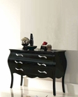 Modern Dresser Natalia in Black Made in Spain 33B305