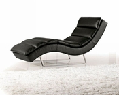 Modern Eco-Leather Chaise 44O1185