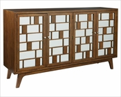 Modern Entertainment Console Mid Century by Hekman HE-27445