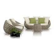 Modern Four-Piece Patio Sofa Set 44P189-SET