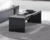 Modern High Gloss Finish Bedside Bench Made in Italy 44B2521