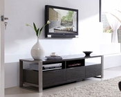 Modern High Gloss Media Console in Gray BM110-GRY
