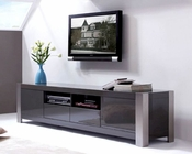 Modern High Gloss TV Console in Gray BM100-GRY