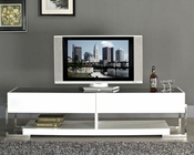 Modern High Gloss TV Console in White BM650-AWHT
