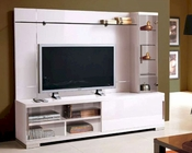 Modern Italian Entertainment Center in White 33E21