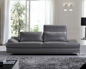 Modern Italian Leather Sofa 44L5967