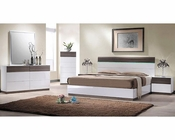 Modern Italian Style Bedroom Set 44B160SET