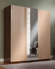 Modern Made in Italy Two Tone 3 Sliding Door Wardrobe 44B4218