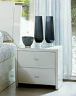 Modern Made in Italy White Finish Nightstand 44B5813W
