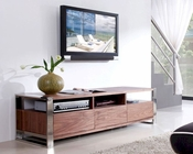 Modern Media Console in Light Walnut BM110-BRN