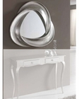 Modern Mirror in Silver Finish 33C63