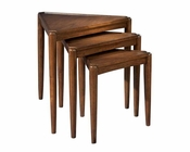 Modern Nesting Tables Mid Century by Hekman HE-951308MW