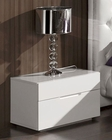 Modern Night Stand Agata in White Made in Spain 33B333