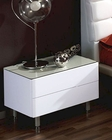 Modern Night Stand in White Made in Spain 33B63