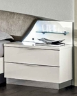 Modern Night Stand Onda in White Color 33170ON