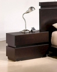 Modern Nightstand in Wenge 44B187NS