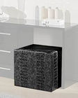 Modern Pouffe in Gray Finish Made in Italy 44B5122G