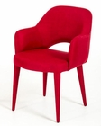 Modern Red Fabric Dining Chair 44D8980CH-R