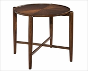 Modern Round Side Table Mid Century by Hekman HE-951306MW