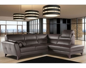 Modern Sectional Set in Brown Color Evelin ESFEV