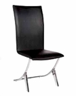 Modern Side Chair Moderno in Black European Design 33D194 (Set of 4)