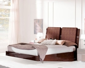 Modern Sleigh Bed Caprice European Design Made in Italy 33B512