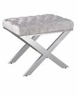Modern Stainless Steel Vanity Stool 44B201VS