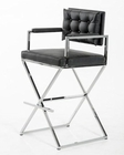 Modern Style Bar Stool in Leatherette 44BR4048