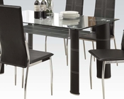 Modern Style Dining Set Riggan by Acme Furniture AC70200A-SET