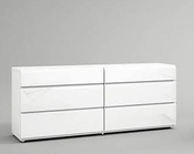 Modern Style Double Dresser Made in Spain Sara 33151SR