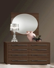 Modern Style Dresser and Mirror Made in Italy Teseo 33190TS
