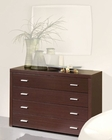 Modern Style Dresser in Wenge Finish Made in Spain 33B15