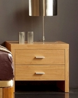 Modern Style Night Stand in Maple Finish Made in Spain 33B23