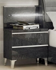 Modern Style Night Stand Made in Italy Elite 33170EI