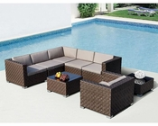 Modern Style Sectional Sofa Set 44P390-SET